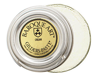 Cream Baroque Art Gilders Paste 30ml