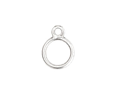 Nunn Design Antique Silver (plated) Toggle Ring 17x13mm