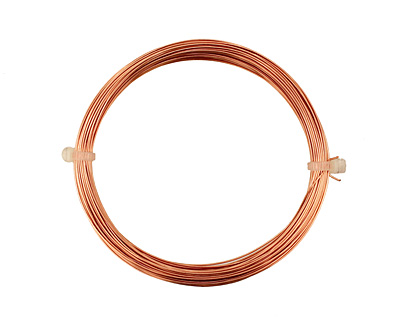 German Style Wire Copper Round 24 gauge, 12 meters