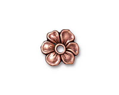 TierraCast Antique Copper (plated) Apple Blossom Rivetable 20mm