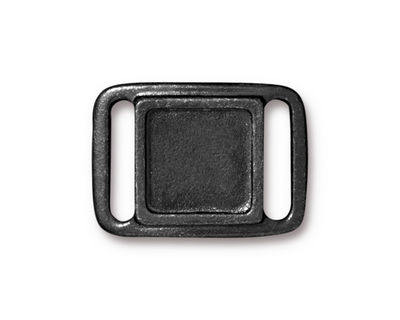 TierraCast Gunmetal (plated) Frame Slide Link 24x17mm