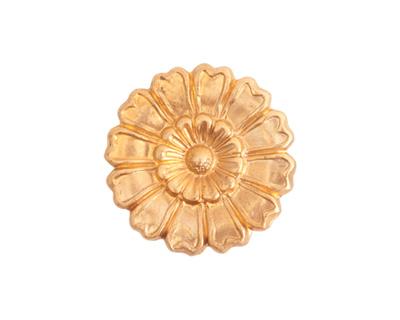 Nunn Design Brass Grande Aster Embellishment 22mm