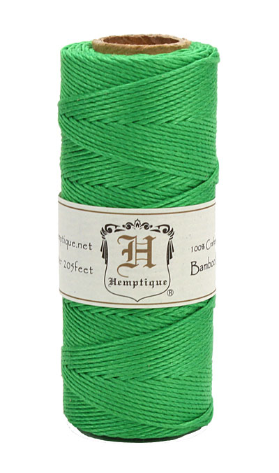 Neon Green Bamboo Cord 20 lb, 205 ft