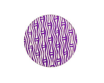 Lillypilly Purple Reeds Anodized Aluminum Disc 25mm, 24 gauge