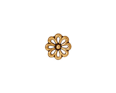 TierraCast Antique Gold (plated) Open Daisy Link 10mm