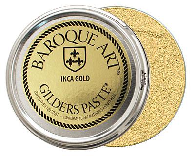 Inca Gold Baroque Art Gilders Paste 100ml