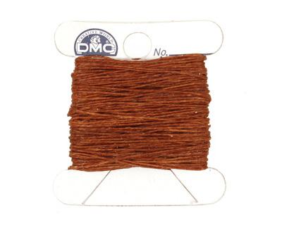 Walnut Brown Irish Waxed Linen 2 ply