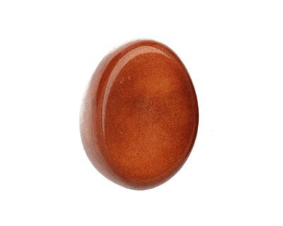 Tagua Nut Caramel Thick Slice 16-18x26-32mm