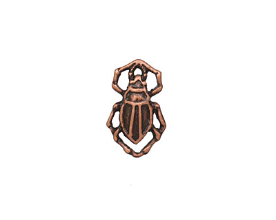 Ezel Findings Antique Copper Water Bug 10x11mm