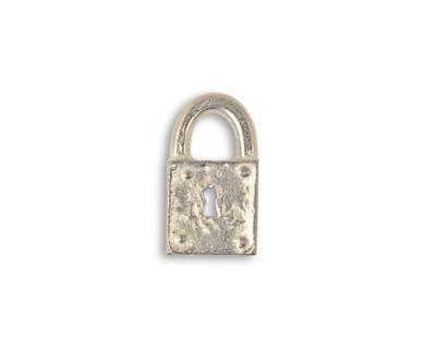 Vintaj Pewter Journal Lock 9x17mm