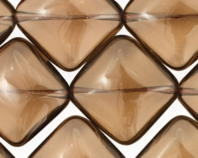 Smoky Quartz Diamond 24mm
