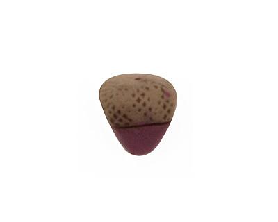 Humble Beads Polymer Clay Purple Acorn 13-14x11-13mm