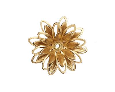 Brass Lotus 23mm