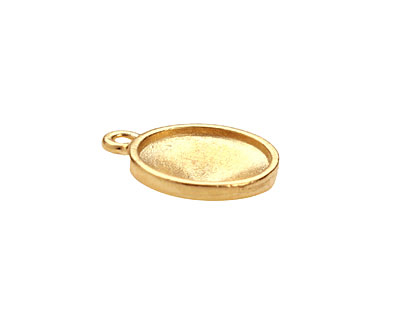 TierraCast Gold (plated) Faceted Drop 17x21mm