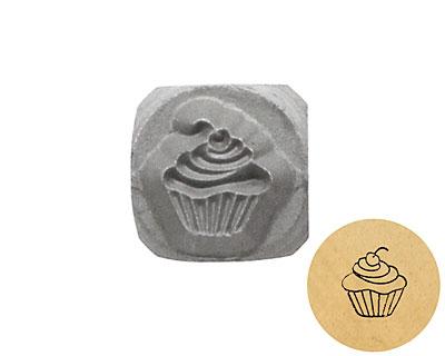 Cupcake Metal Stamp 5mm