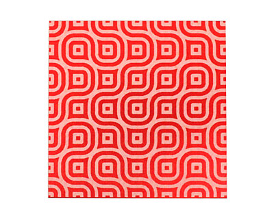 Lillypilly Red Maze Anodized Aluminum Sheet 3