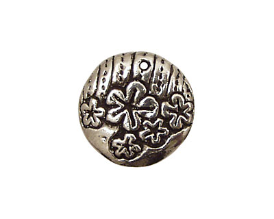 Green Girl Pewter Mirth Coin 20mm