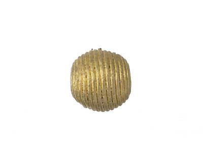African Brass Corrugated Round 13-14mm
