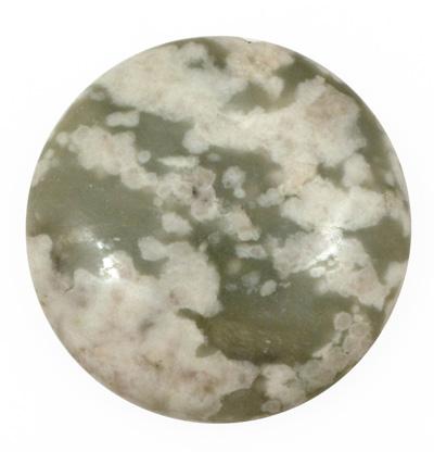 Peace Jade Puff Coin 40mm