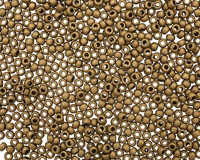 TOHO Matte Dark Copper Round 11/0 Seed Bead