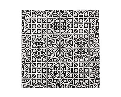 Lillypilly Black Cross Stitch Anodized Aluminum Sheet 3