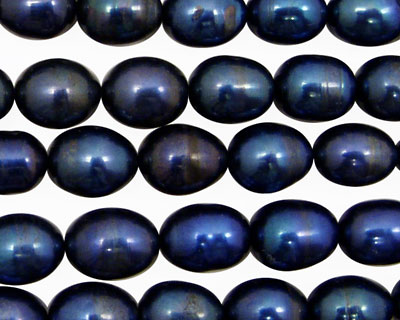 Midnight Blue Rice 9-11mm