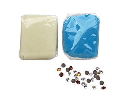 Turquoise Crystal Clay 50 grams