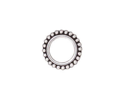 TierraCast Antique Silver (plated) 8mm Round Bead Frame 14mm