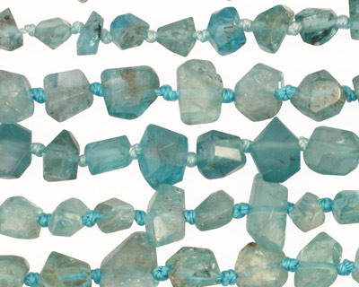 Apatite Faceted Nugget 5-7x6-8mm