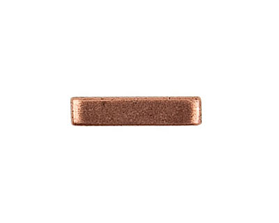Nunn Design Antique Copper (plated) Simple Toggle Bar 22mm