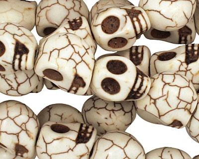 Magnesite Skull 12x10mm