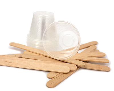 Resin Cup & Stick Refill (10 cups, 10 sticks)