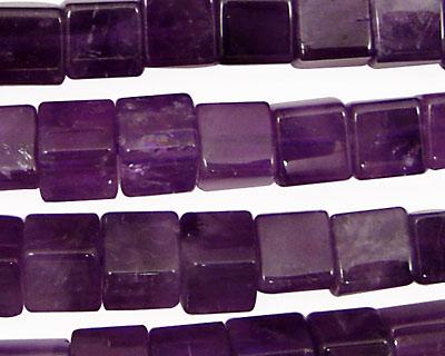 Amethyst Cube 8mm
