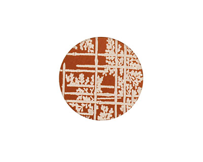 Lillypilly Bronze Bamboo Anodized Aluminum Disc 19mm, 24 gauge