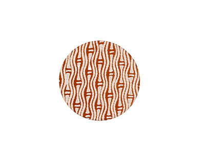 Lillypilly Bronze Reeds Anodized Aluminum Disc 19mm, 24 gauge