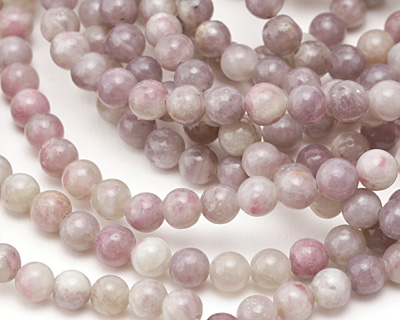 Ruby Quartz (Lavender) Round 6.5mm