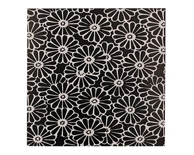 Lillypilly Black Daisy Anodized Aluminum Sheet 3