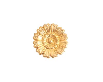Nunn Design Brass Large Aster Embellishment 16mm