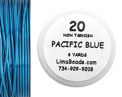 Parawire Pacific Blue 20 Gauge, 6 Yards
