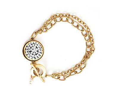 Nunn Design Antique Gold (plated) Traditional Bracelet Kit