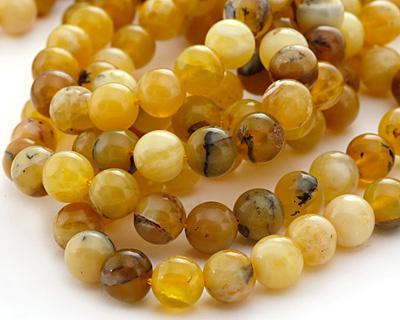 Yellow Opal Round 10mm
