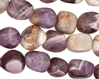 Dogtooth Amethyst Tumbled Nugget 10-12mm