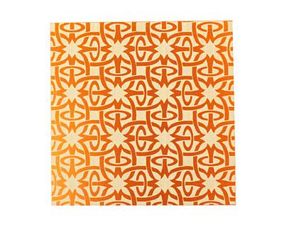Lillypilly Orange Starburst Anodized Aluminum Sheet 3