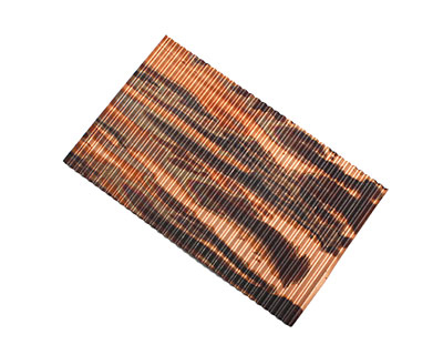 Lillypilly Enchantment Corrugated Patina Copper Sheet 3