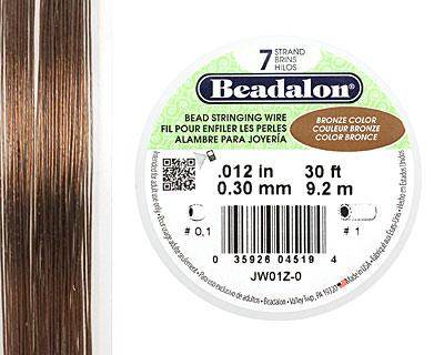 Beadalon Bronze .012