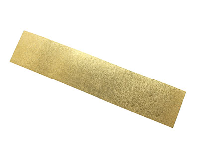 Floral Vine Patterned Brass Strip 2.5