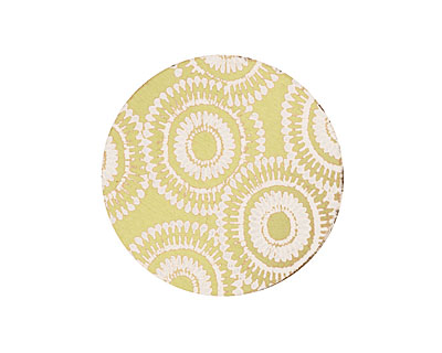 Lillypilly Gold Dandelion Anodized Aluminum Disc 25mm, 22 gauge