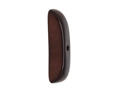 Tagua Nut Espresso Splinter (center-drilled) 7-8x28-35mm