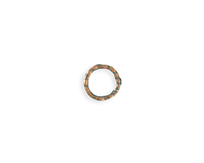 Vintaj Copper Verdigris (plated) Organic Ring 12mm