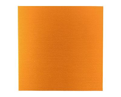 Lillypilly Orange Anodized Aluminum Sheet 3
